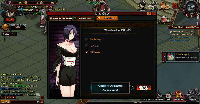 bleach online review screenshot
