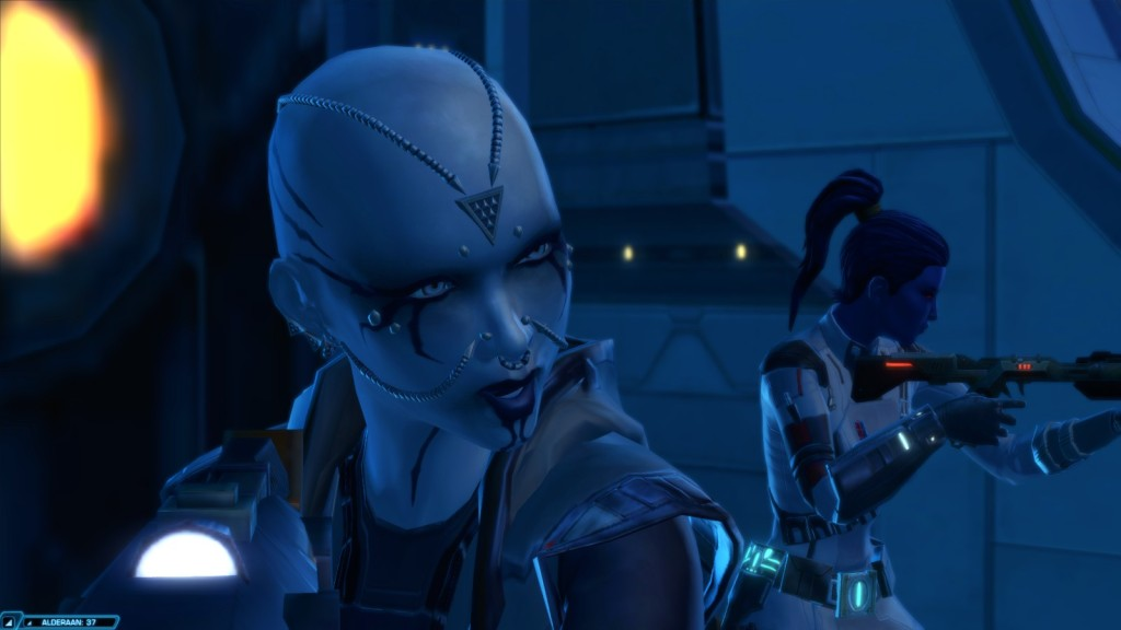 NPC Kaliyo Djannis in Star Wars: The Old Republic