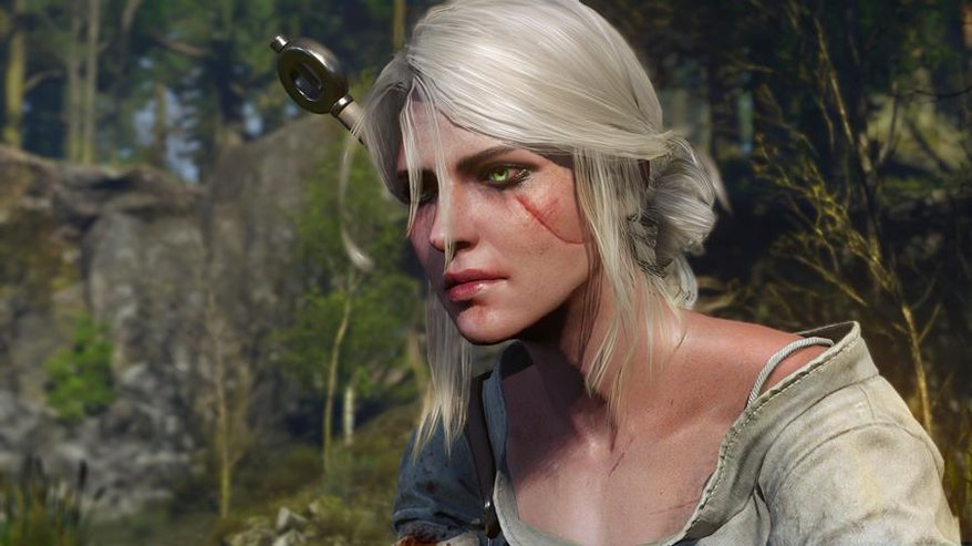 The Witcher Ciri NPC