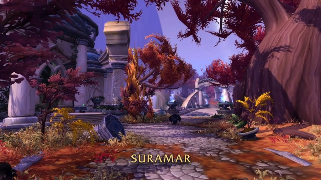 WoW Legion Suramar preview