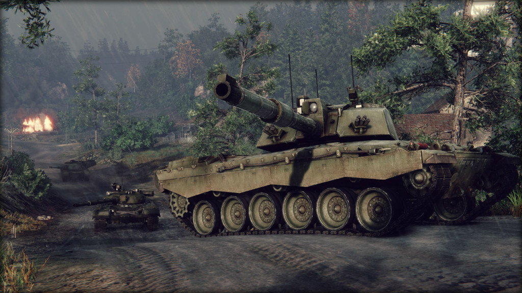 Armored Warfare not pay2win game image