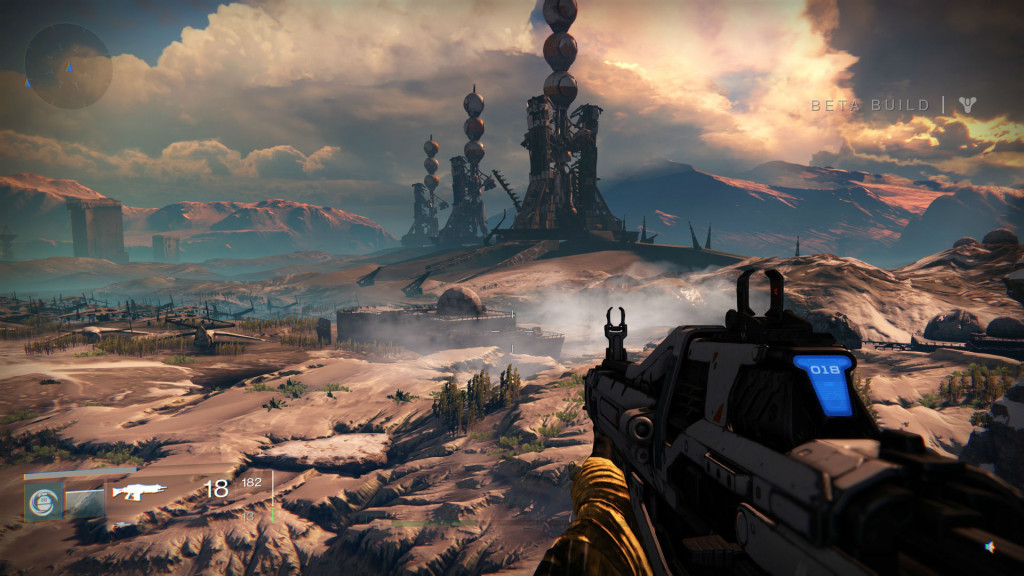 A spectacular vista in Destiny