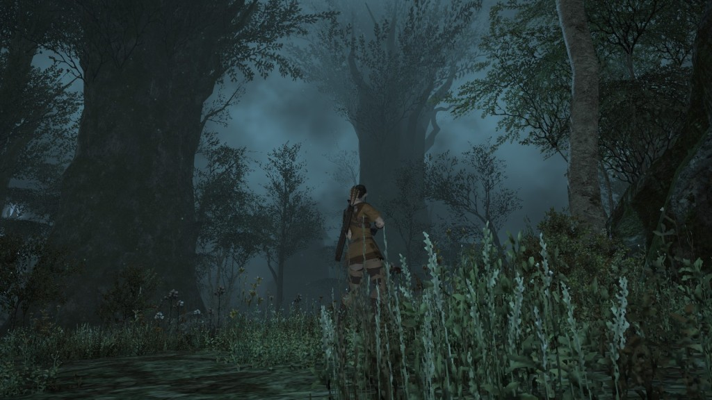 A misty night showcases Final Fantasy XIV's spectacular weather visuals