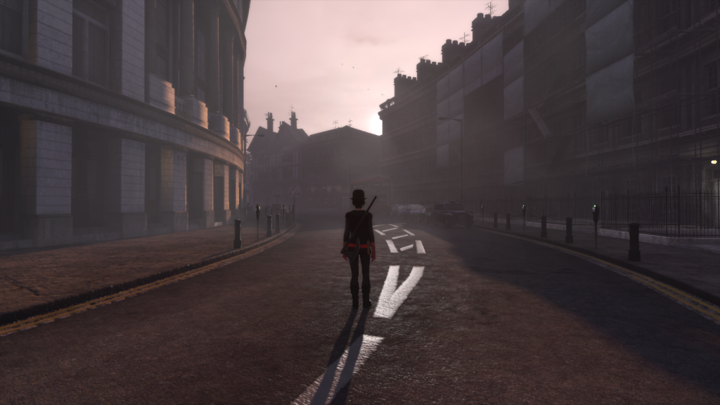 Sunset over London showcases the beauty of The Secret World