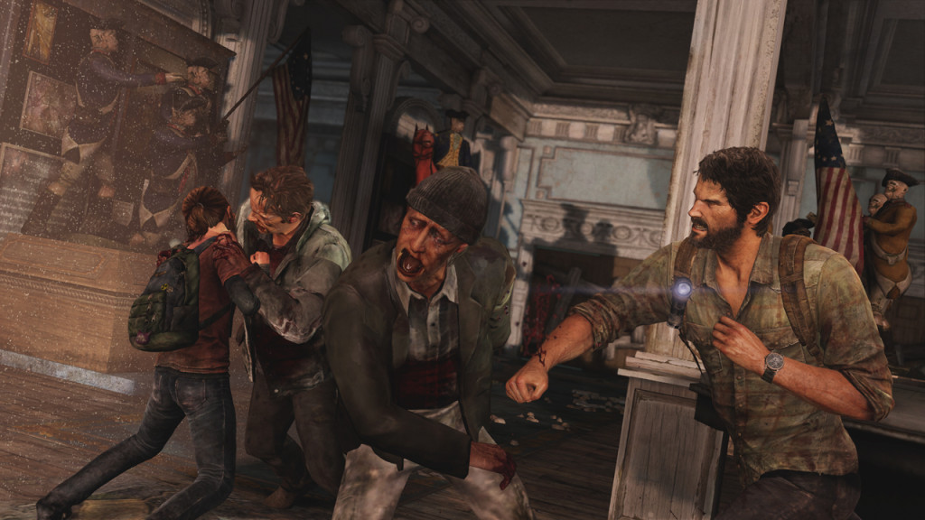Last of Us grinding zombies