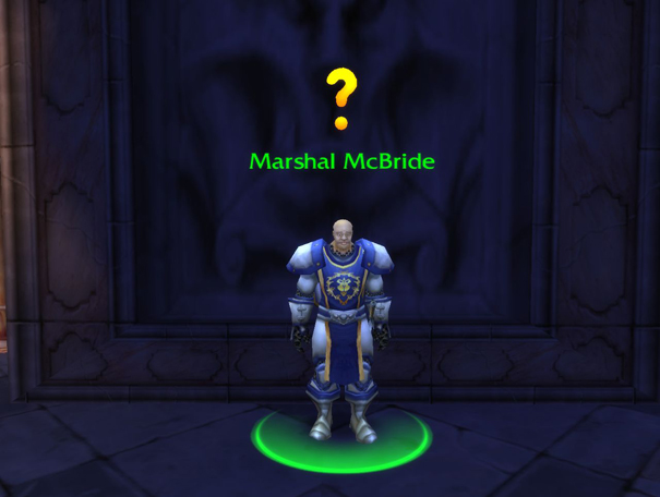 world of warcraft quest giver