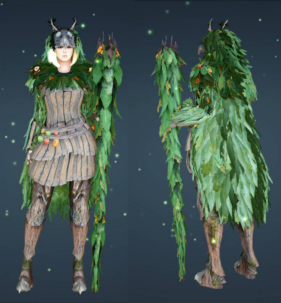 ghillie suit in black desert online from item mall
