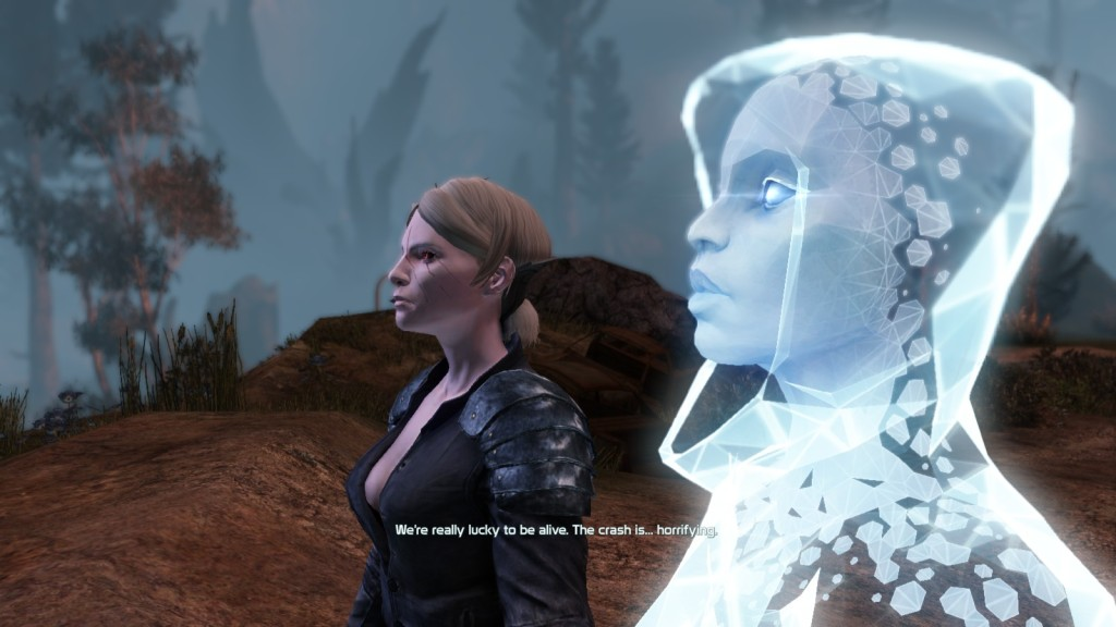 A mission introducing the EGO program in the shooter MMO Defiance