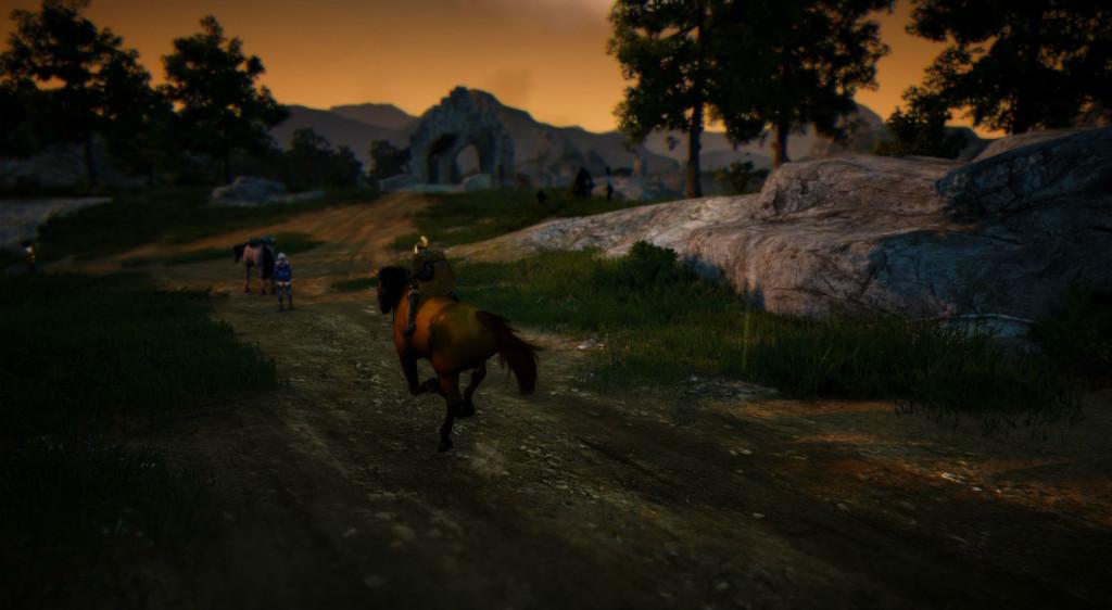 Black Desert Online Horse In Rain