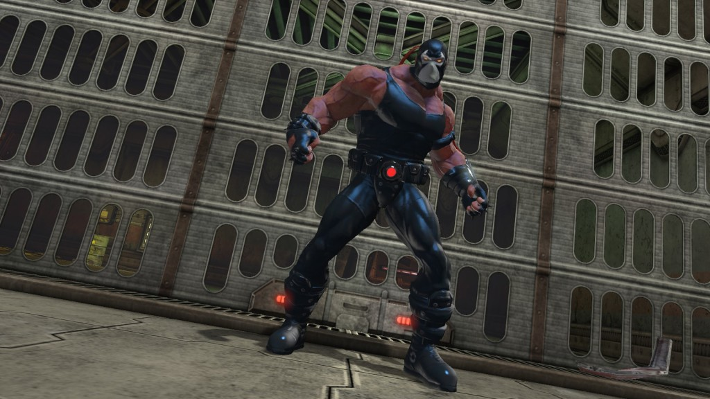 The supervillian Bane in DC Universe Online