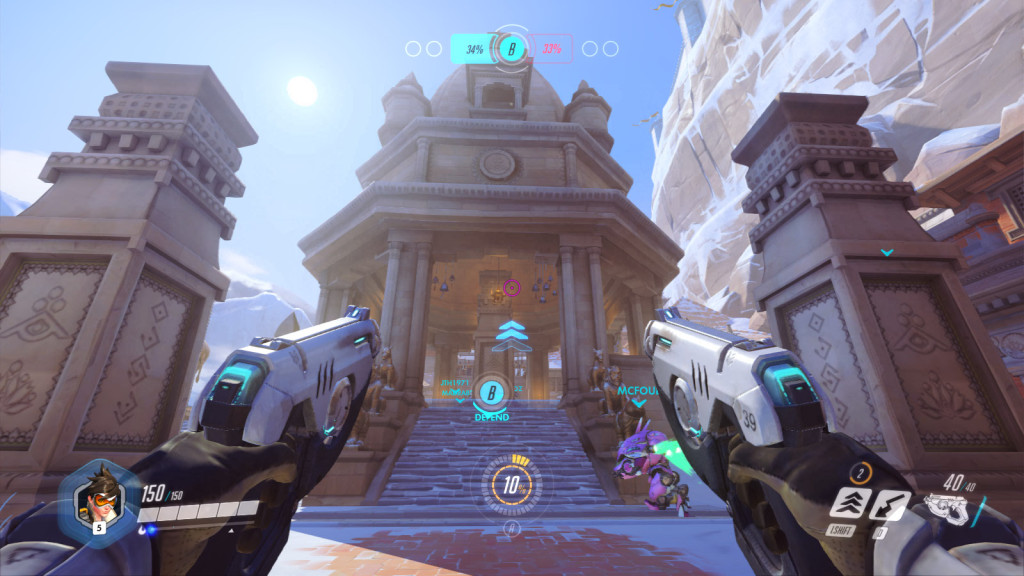The Nepal map in Overwatch