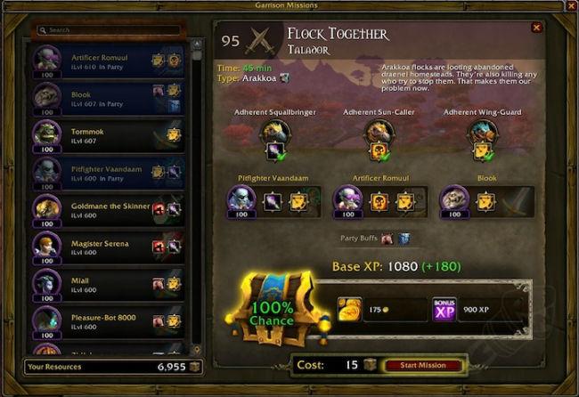 World of Warcraft garrisons
