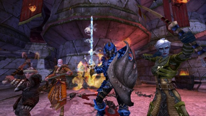 dungeons and dragons 2006 best mmorpg
