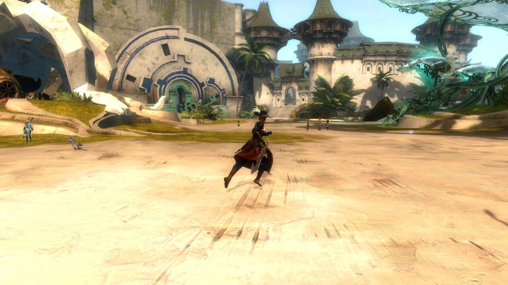 The latest incarnation of the Lion's Arch zone in Guild Wars 2