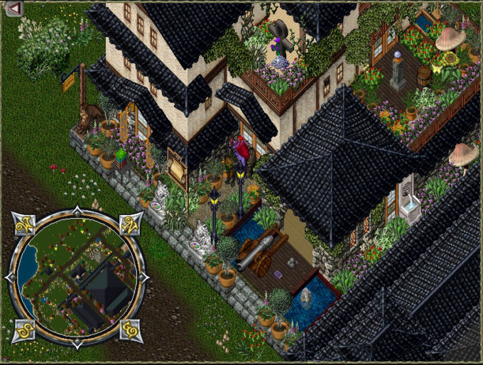 ultima online housing good for virtual worlds