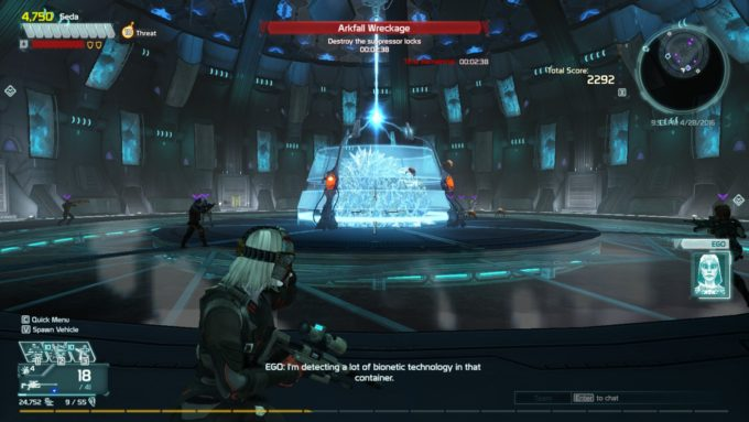 DLC content in the MMO shooter Defiance