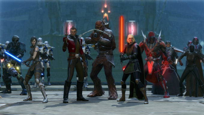 SWTOR: most played free mmorpg