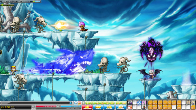 MapleStory: 5th most played MMORPG
