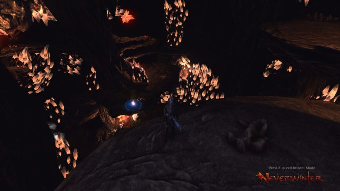 A cave in the Western MMORPG Neverwinter