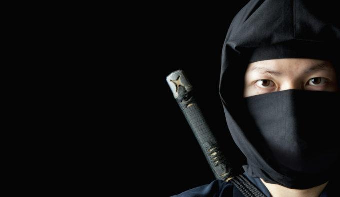 Sneaky ninjas, stealing your loot