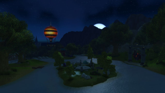 Stormwind City in the Western MMORPG World of Warcraft