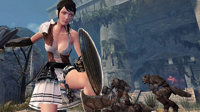 A character in the Eastern MMORPG Vindictus