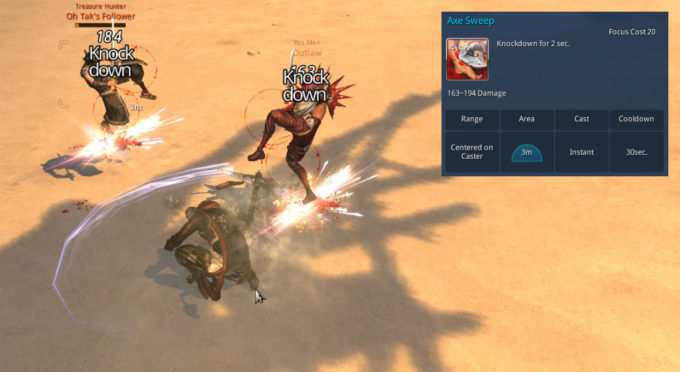 blade and soul combat