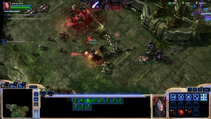 The Alarak commander in StarCraft 2's co-op