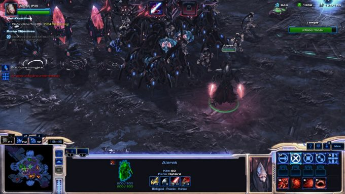 The new Alarak commander in StarCraft 2's co-op