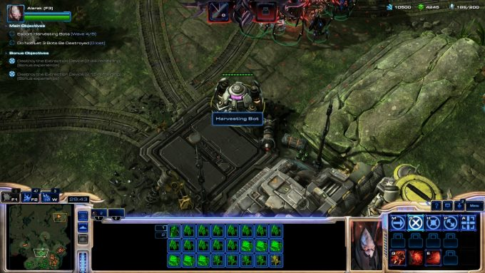 The new Mist Opportunities map in StarCraft 2's co-op