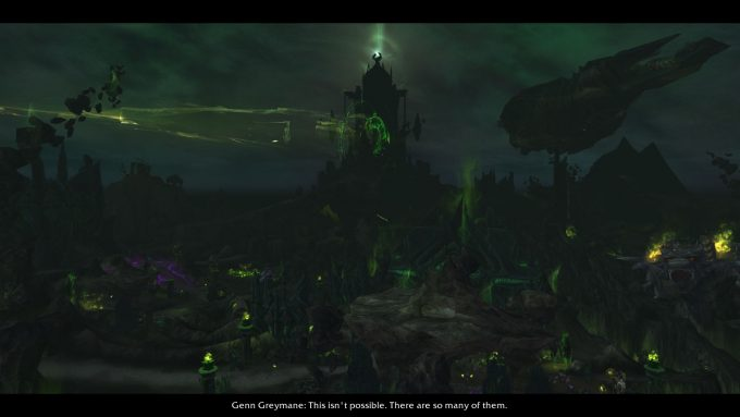The Broken Shore scenario in World of Warcraft: Legion