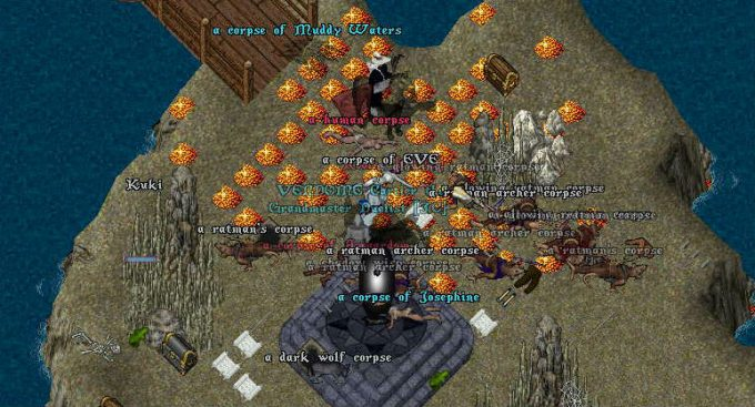ultima online gold pile