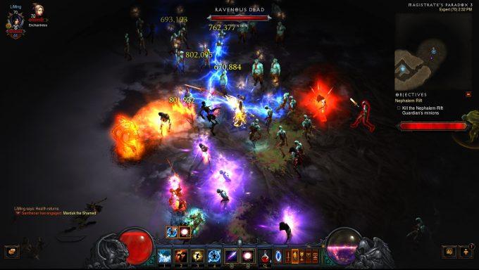 A Nephalim Rift in Diablo III