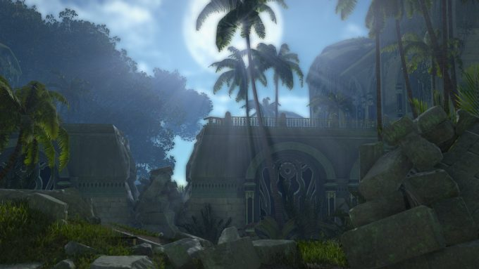 Some forgotten ruins in Skyforge's Ascension patch