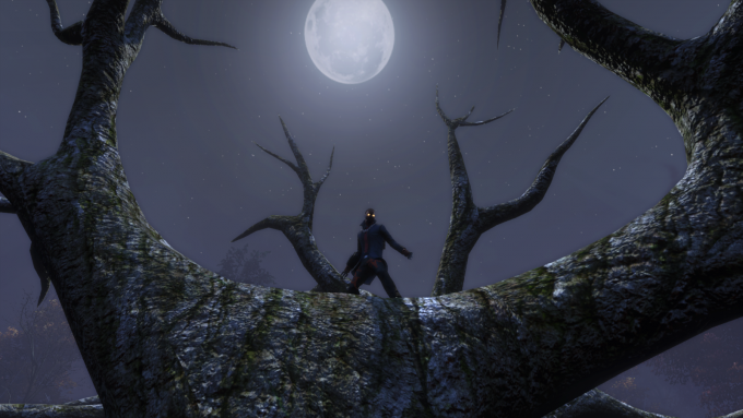A character participating in The Secret World's Halloween event.
