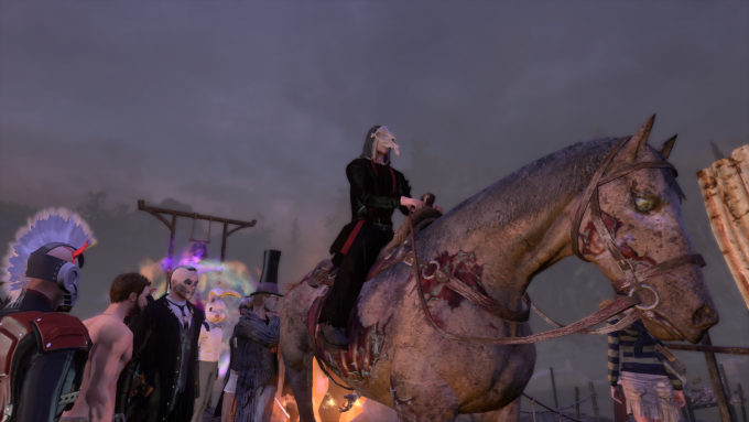 The Rider, star of The Secret World's 2016 Halloween event.