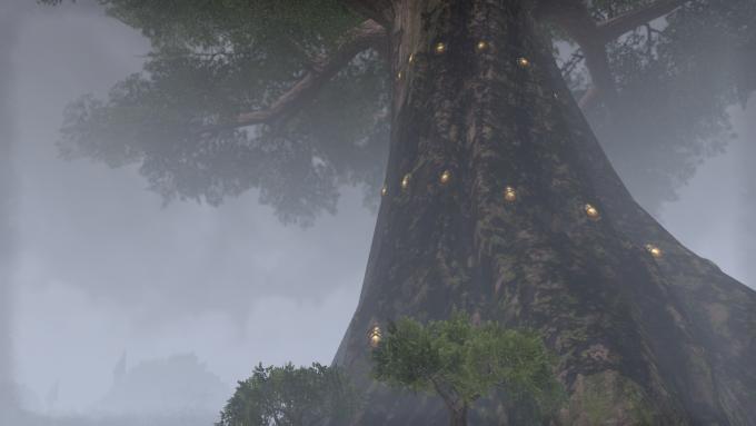 A screenshot of the city of Elden Root in Elder Scrolls Online