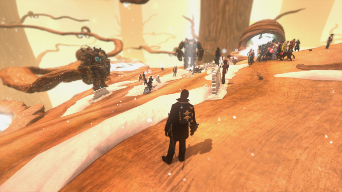 The holidays come to The Secret World's Agartha