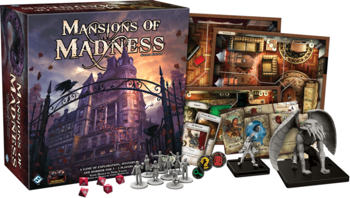 mansions of madness the secret world