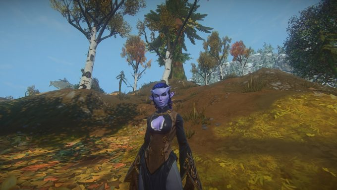 A player character in Landmark