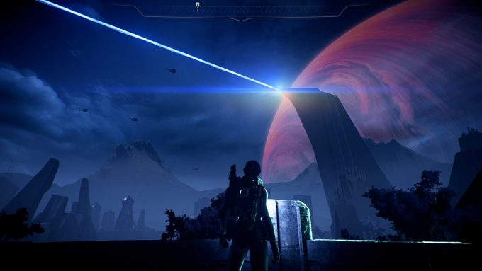 The planet Havarl in Mass Effect: Andromeda