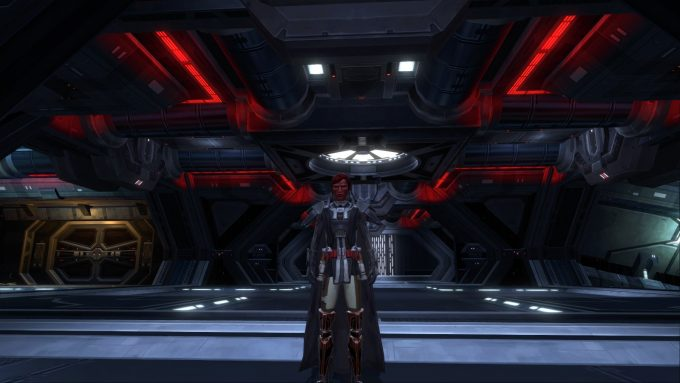 A Sith warrior in Star Wars: The Old Republic