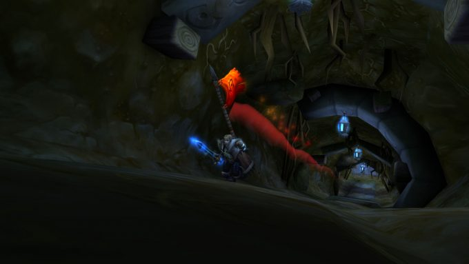 Carrying the flag in a World of Warcraft battleground