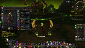 The character stats pane in World of Warcraft