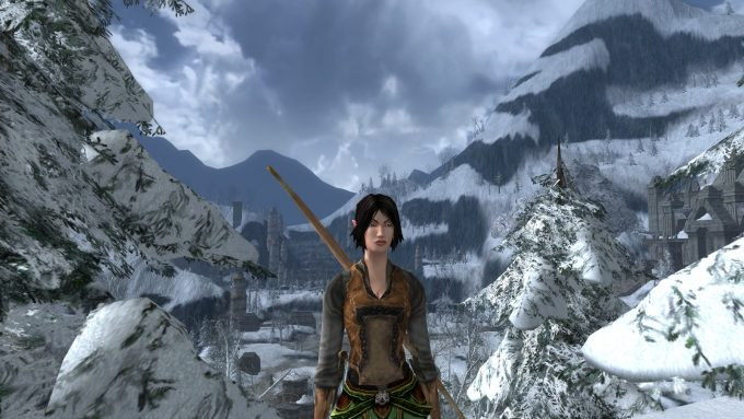 An Elf character in Lord of the Rings Online