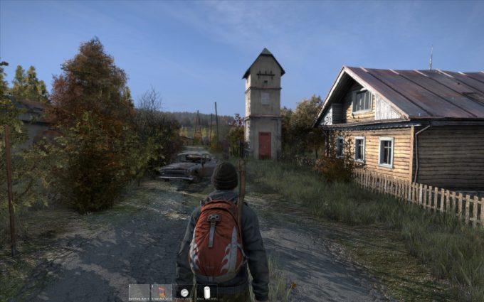 A screenshot from the survival sandbox DayZ