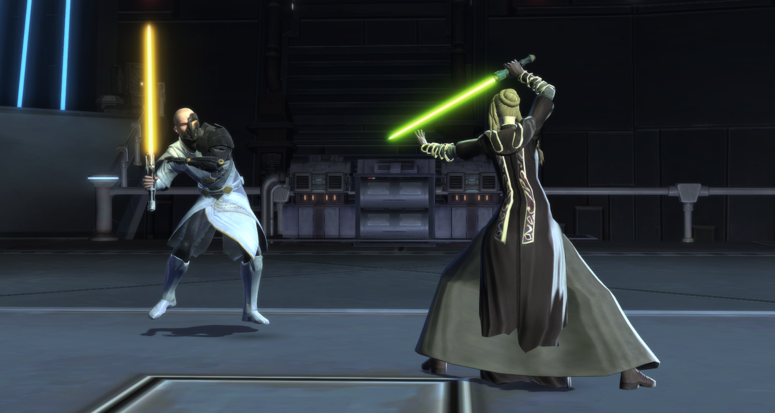 Lightsaber fight in SWTOR