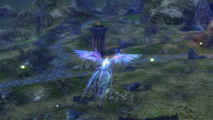 A flight path in Aion