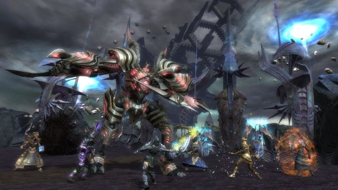 A promotional screenshot from Rift