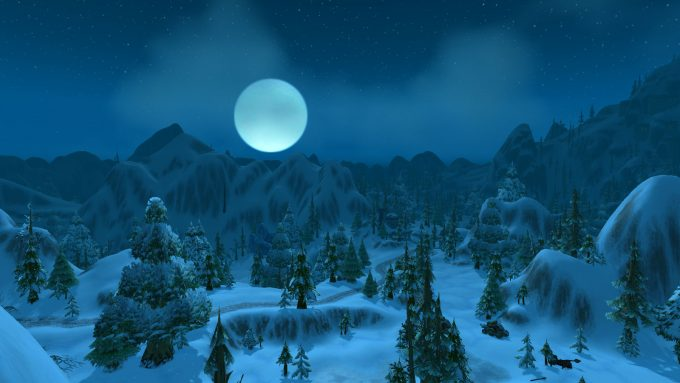 The region of Dun Morogh in World of Warcraft